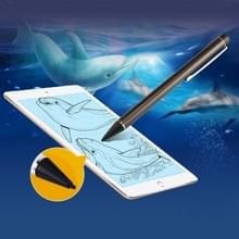 Universeel oplaadbare Capacitieve Touch scherm Stylus Pen voor iPhone  iPad  Samsung  en andere Capacitieve Touch scherm Smartphones of Tablet PC (grijs)