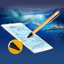 Universeel oplaadbare Capacitieve Touch scherm Stylus Pen voor iPhone  iPad  Samsung  en andere Capacitieve Touch scherm Smartphones of Tablet PC(Gold)