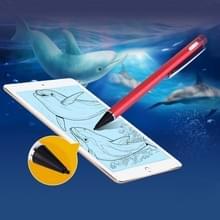 Universeel oplaadbare Capacitieve Touch scherm Stylus Pen voor iPhone  iPad  Samsung  en andere Capacitieve Touch scherm Smartphones of Tablet PC(Red)