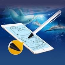 Universeel oplaadbare Capacitieve Touch scherm Stylus Pen voor iPhone  iPad  Samsung  en andere Capacitieve Touch scherm Smartphones of Tablet PC(Silver)