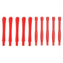 10 PC's mobiele telefoon reparatie Tool Spudgers (5 stuks ronde + 5 stuks Square)(Red)