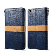 Lederen beschermhoes voor iPhone 6 plus & 6s plus (blauw)