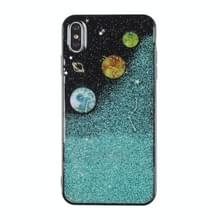 Universe Planet TPU beschermhoes voor Galaxy S9 plus (universeel geval B)