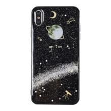 Universe Planet TPU beschermhoes voor Galaxy S9 plus (universeel geval C)
