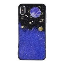 Universe Planet TPU beschermhoes voor Galaxy S9 plus (universeel geval D)