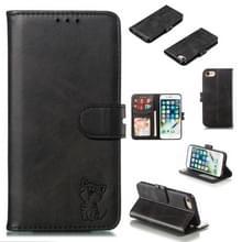 Lederen beschermhoes voor iPhone 6 & 6s (zwart)
