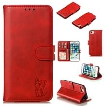 Lederen beschermhoes voor iPhone 6 & 6s (rood)