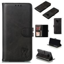 Lederen beschermhoes voor Galaxy Note9 (zwart)