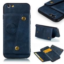 Lederen beschermhoes voor iPhone 6 & 6s (blauw)