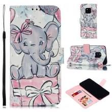 Lederen beschermende case voor Huawei mate 20 Pro (olifant gift)