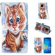 Lederen beschermhoes voor Huawei mate 20 Pro (Tiger)