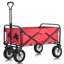 [EU-opslagplaats] MS193280RAA Outdoor Opvouwbare trolley met breed remwiel/mesh cuphouder/verstelbare handgreep/stoffen tas