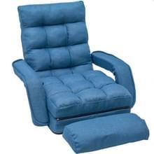 [Amerikaans pakhuis] Opvouwbaar Lazy Sofa Sofa Sofa Lounger Bed met armleuningen en kussen