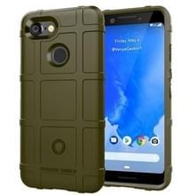 Volledige dekking schokbestendig TPU Case voor Google pixel 3 (groen)
