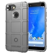 Volledige dekking schokbestendig TPU Case voor Google pixel 3 (grijs)