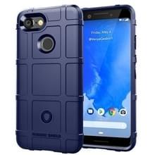 Volledige dekking schokbestendig TPU Case voor Google pixel 3 (blauw)