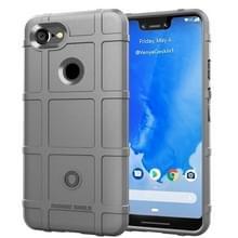 Volledige dekking schokbestendig TPU Case voor Google pixel 3 XL (grijs)