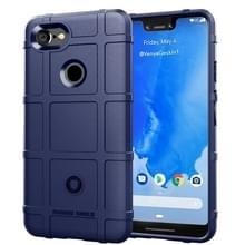 Volledige dekking schokbestendig TPU Case voor Google pixel 3 XL (blauw)