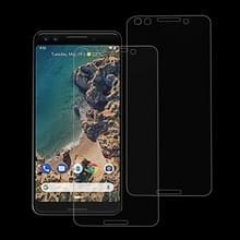 2 stuks 9H 2.5D getemperd glas Film voor Google Pixel 3