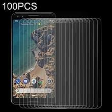 100 stuks 9H 2.5D getemperd glas Film voor Google Pixel 3