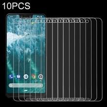 10 stuks 9H 2.5D getemperd glas Film voor Google Pixel 3XL
