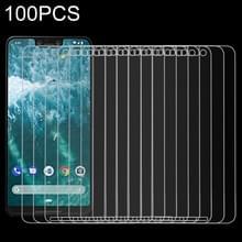 100 stuks 9H 2.5D getemperd glas Film voor Google Pixel 3XL
