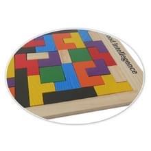 Baby puzzel Toy houten kleur mozaïek Tetris  grootte: 27 * 18cm
