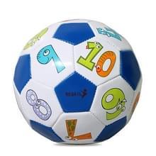 REGAIL No. 2 Intelligence PU Leder Slijtvast Nummer Voetbal voor kinderen  met Inflator