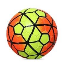 REGAIL No. 2 Intelligence PU Leder Slijtvast Gradient Football voor kinderen  met Inflator