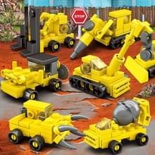 8 in 1 KAZI City engineering kinderen DIY verlichting geassembleerd bouwstenen educatieve intelligentie speelgoed