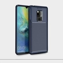 Kevers serie volledige dekking TPU beschermende cover Case voor Huawei mate 20 X (donkerblauw)
