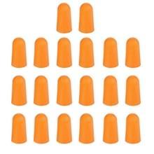 Tien paren niet-toxisch oranje zachte Memory Foam materiaal oordopje voor Sleeping(Orange)