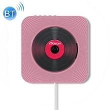 KC-808 Wall Mounted Bluetooth 4.2+EDR CD Player with Remote Control  Support FM(Pink)