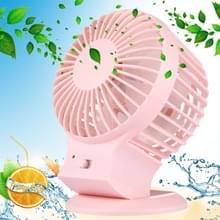 Dual Motor Blower efficiënt en opslaan Power draagbare Mini USB Fan bureaublad dempen Fan voor de snelheid modus van Office  reizen  2 soorten  DC 5V(Pink)