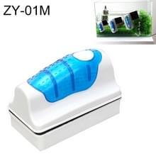 ZY-01M aquarium vis tank geschorst magnetische Cleaner borstel Reinigingshulpmiddelen  M  grootte: 9.5 * 7.4 * 4.5 cm