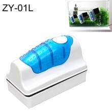 ZY-01L aquarium vis tank geschorst magnetische Cleaner borstel schoonmaakmiddelen  L  grootte: 10.5 * 7.4 * 5.5 cm