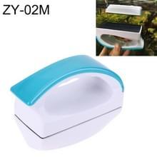ZY-02M aquarium vis tank geschorst handvat ontwerp magnetische Cleaner borstel Reinigingshulpmiddelen  M  grootte: 10.5 * 7.5 * 5cm