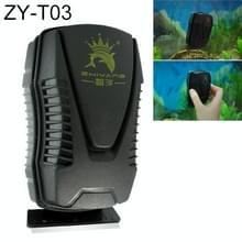 ZY T aquarium vis tank geschorst magnetische schraper Cleaner borstel reinigingsgereedschap  S  grootte: 9.8 * 5.4 * 5.5 cm