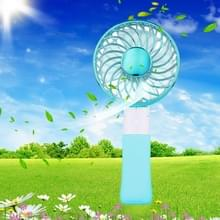 SEMA opvouwbare draagbare Mini accu ventilator met 3 toerentalregeling & Lanyard(Blue)