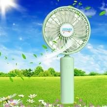 SEMA 360 graden roteren Handheld Mini accu ventilator met 3 versnellingen Control(Green)