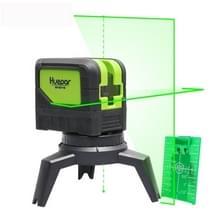 9211G 1V1H 15mW 2 lijn 2 Dot groene Beam Laser-niveau die betrekking hebben op muren en vloeren (groen)