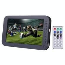 9 8 inch TFT LCD-scherm analoge Multimedia Portable TV videospeler met Remote Controller ondersteuning TV  FM radiofunctie  U schijf & TF kaart lezing