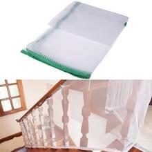 3m verdikking Veiligheidscope gevlochten balkon trap Safety net voor kind (groen)