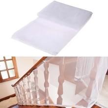 3m verdikking Veiligheidscope gevlochten balkon trap Safety net voor kind (wit)