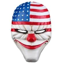 Halloween masker PVC Halloween Festival partij U.S. vlag patroon masker