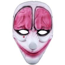 Halloween masker PVC Halloween Festival partij rode hersenen patroon masker