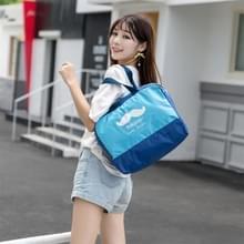 Buiten multifunctionele waterdichte groot strand tas Travel Bag toilettas Bag(Blue)