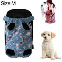 Voor huisdier vervoerder hond rugzak tas  maat: M