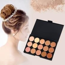 Z15--2 15 kleuren concealer Stichting crème make-up cosmetische palet