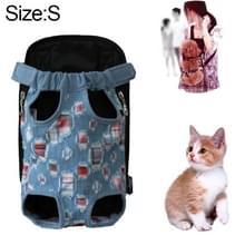 Voor huisdier vervoerder hond rugzak tas  maat: S